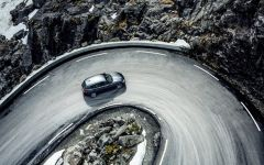 Automotive Champion branding Extreme Roads By Nicolas Jandrain