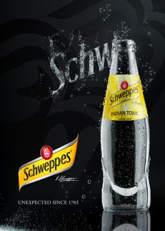 Schweppes soda Photography art direction by Nicolas Jandrain