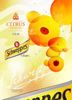 Schweppes art direction by Visualmeta4