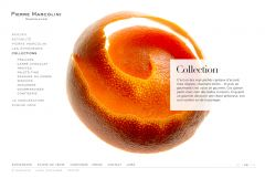 Pierre Marcolini Website by Nicolas Jandrain